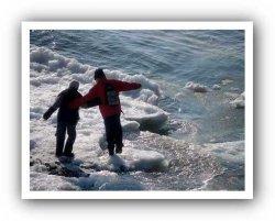 Со льдины, плывущей по реке Тосна, спасены четверо детей