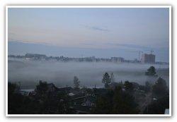МЧС: Ленобласть затянет туманом, возможны серьёзные ДТП