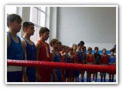 Школа бокса, открытый ринг посвященный третьей годовщине открытия школы