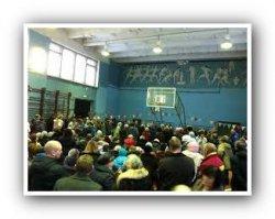 Жители Тосненского района собираются на сход в Красном Бору