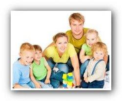 Многодетные семьи приравняли к семьям с приёмными детьми